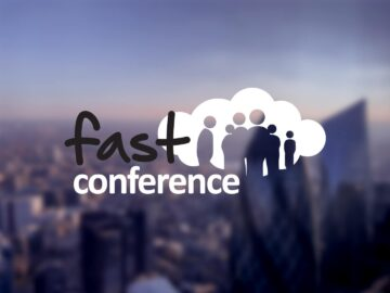 Fast Conference cloud logo design
