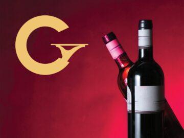Gourmet Society red wine bottles
