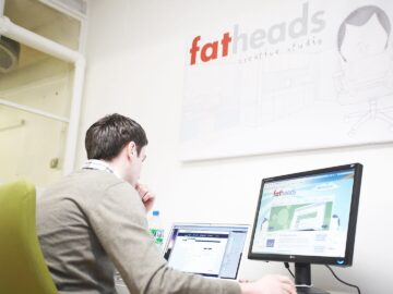 Fat Heads Creative Studio Chorlton Street Manchester office
