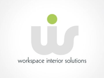 Workspace Interior Solutions office furniture logo design