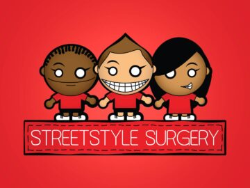 Street Style Surgery character logo