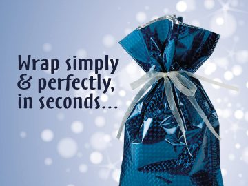 Gift packaging advert for GiftMate