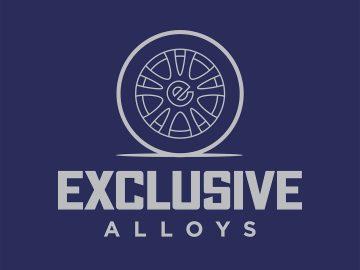 Exclusive Alloys wheel repair logo design