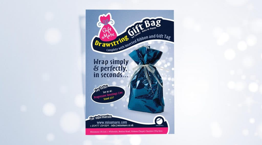 Gift Mate advert packaging design