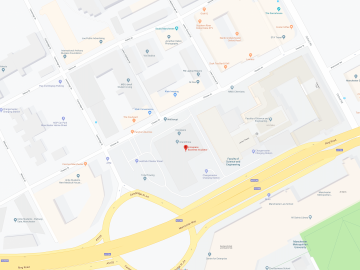 Map of Chester Street, Manchester