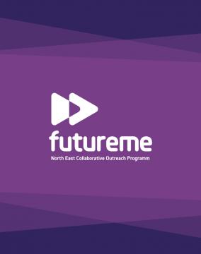 FutureMe web design banner
