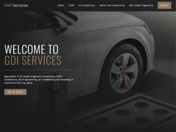 GDI Services website