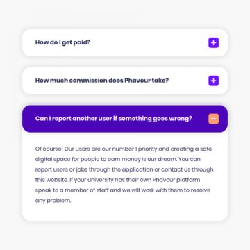 Phavour FAQs