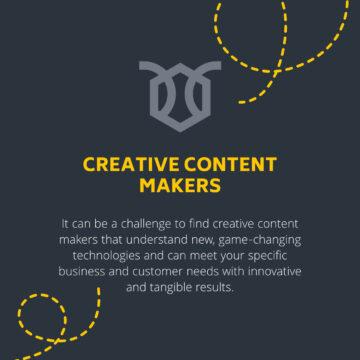 HIVE Content website feature panel