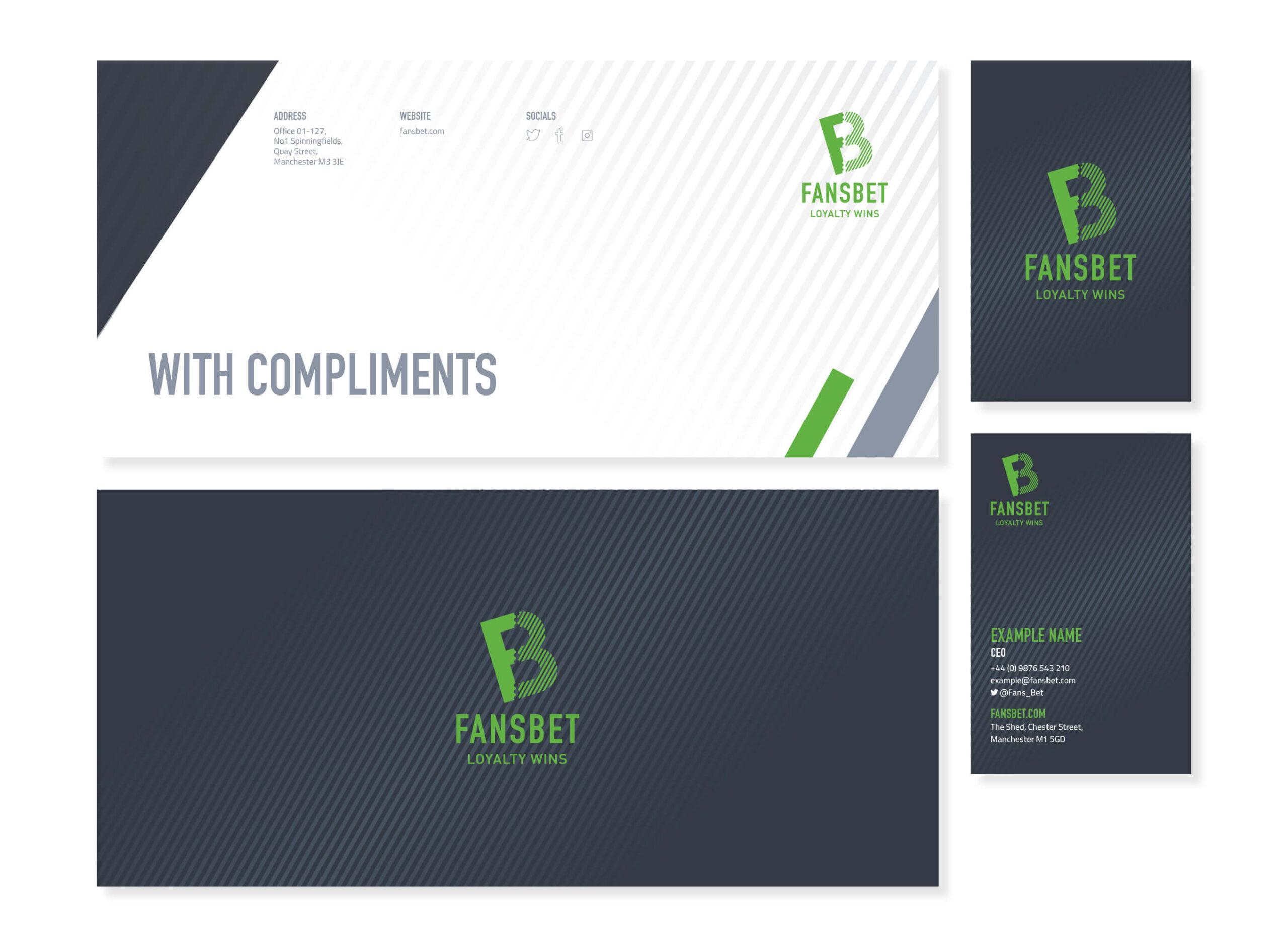fansbet stationery design