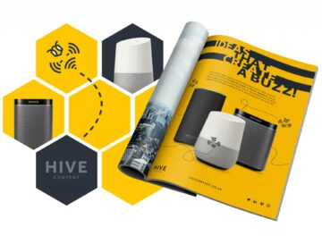 HIVE Content smart speaker advert