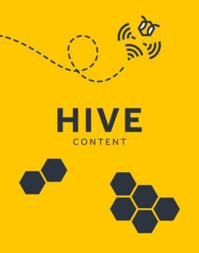 HIVE Content banner desktop