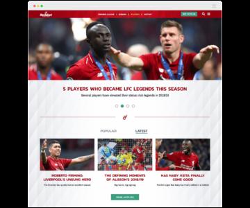 redsbet website mock