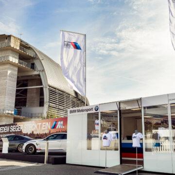 BMW Motorsport exhibition trailer