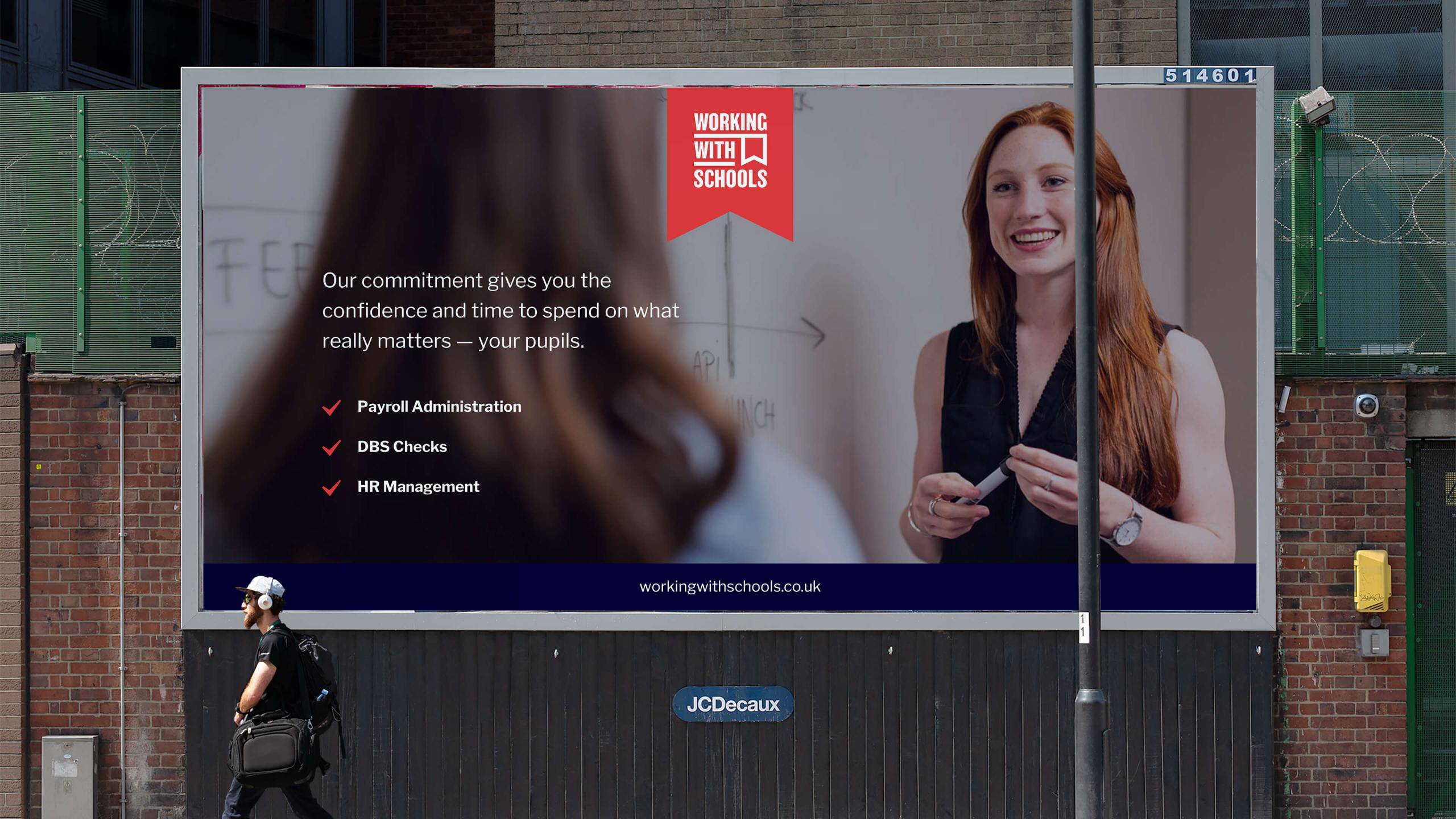 WwS billboard advert
