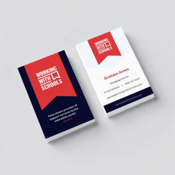 WwS business card design