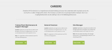CHC website careers panel