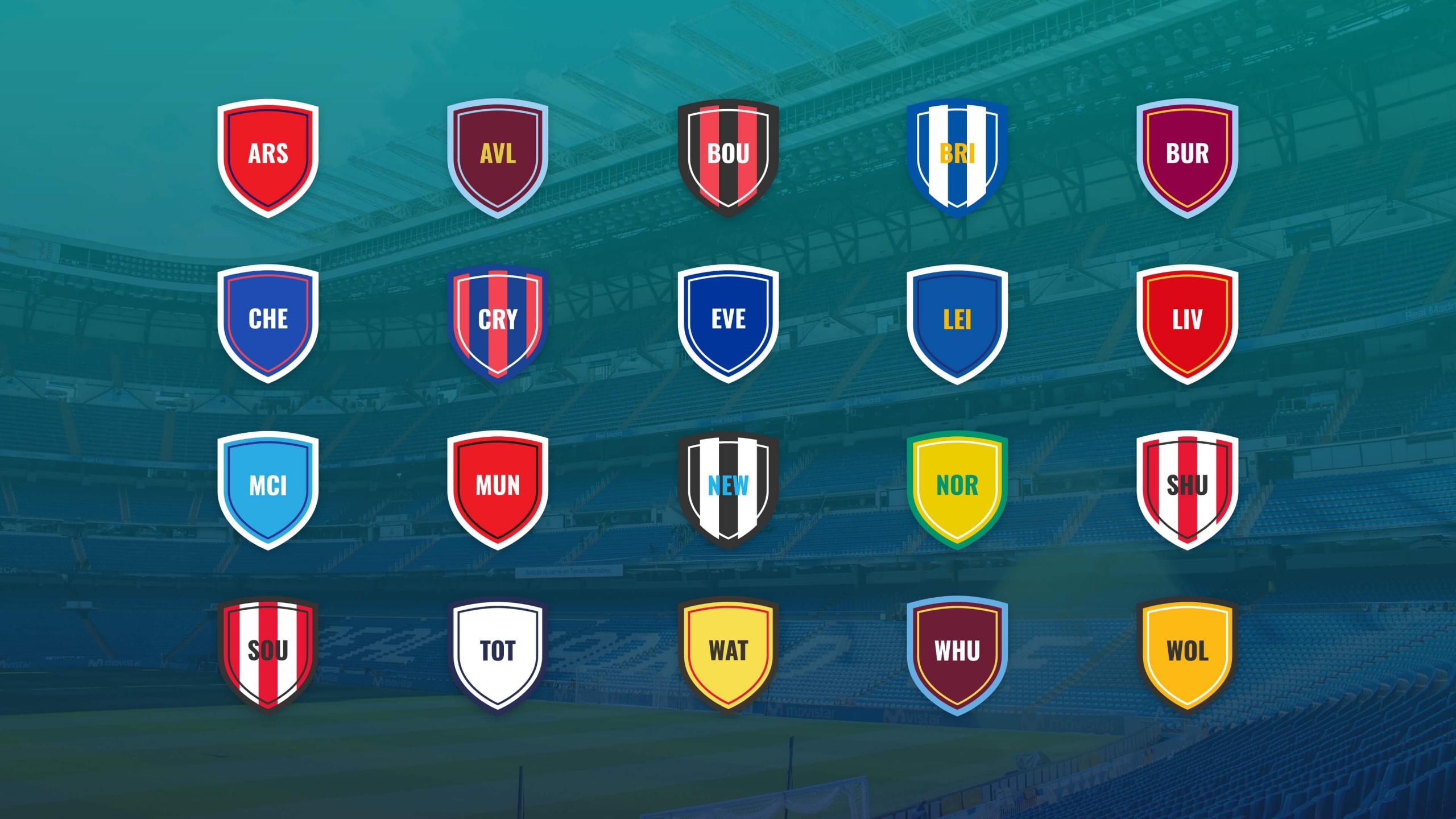 Sport Social football club crests