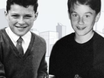 Sean Turner and Rick Baxter aged 11