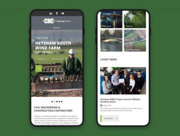 CHC website mobile