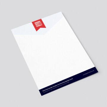 WwS letterhead design