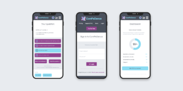 ComPeDence website mobile