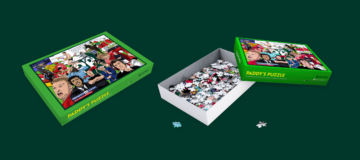 Paddy Power jigsaw box