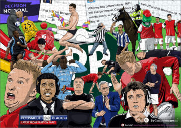 Paddy Power jigsaw artwork