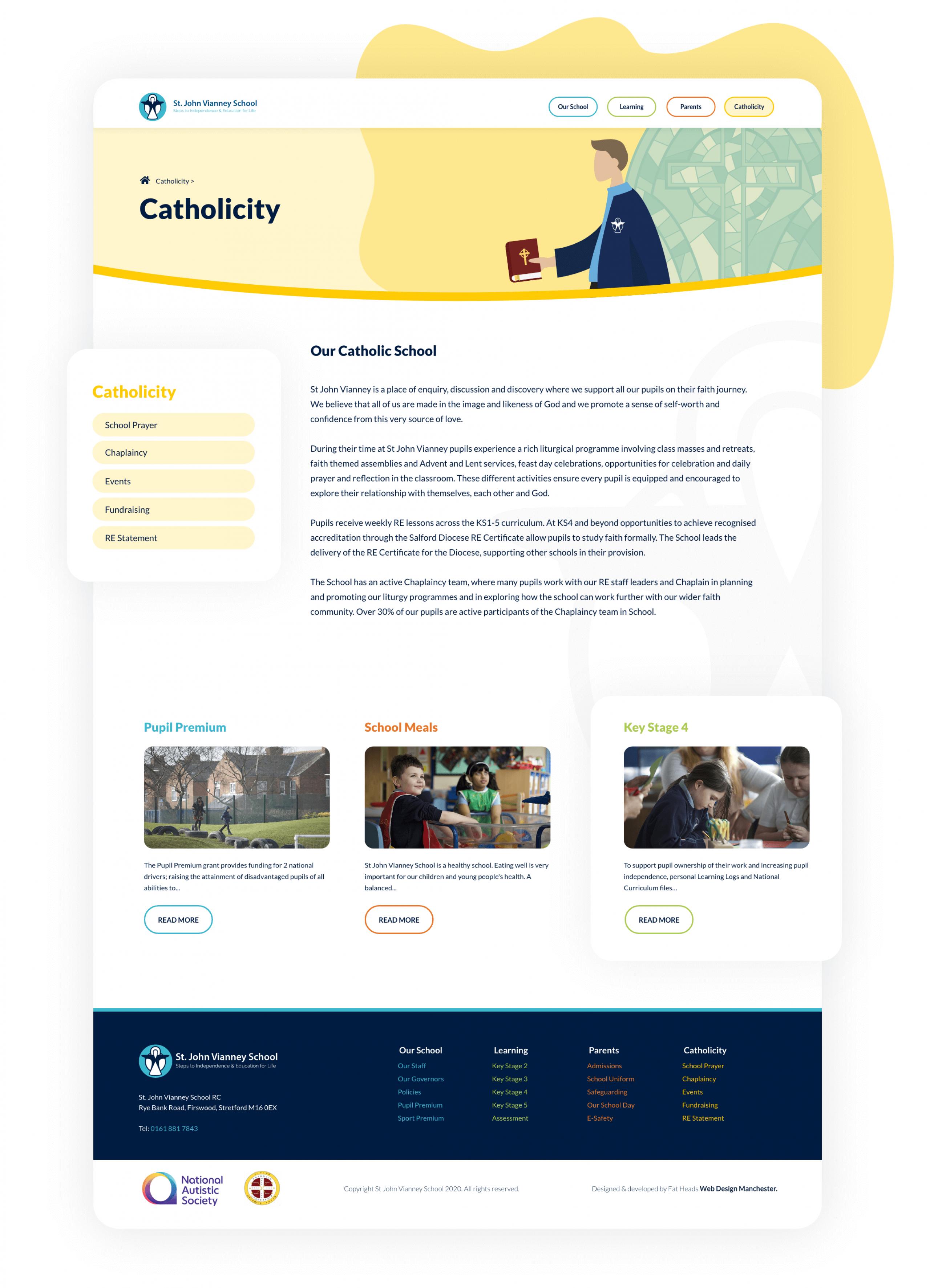 SJV website page