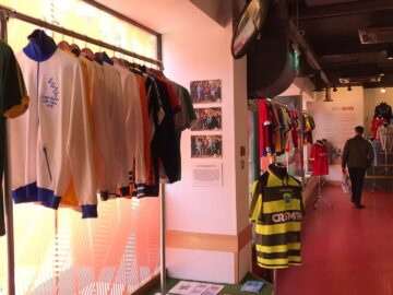 Manchester 95 Football Kits exhibition