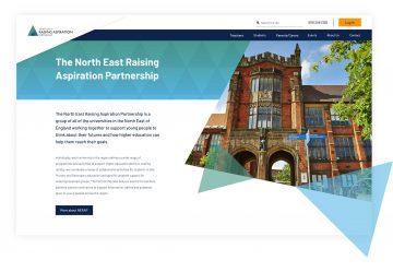 nerap homepage example