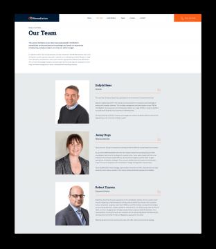 dbr team page