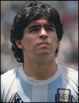 football icons maradona photo