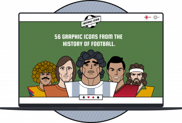 football icons site homepage